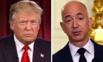 Trump Accuses Jeff Bezos of Politically Shielding Amazon From Taxes