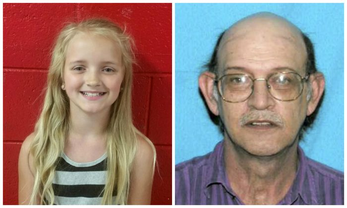 Carlie Trent and her uncle, Gary Simpson. (Tennessee Bureau of Investigation via the Rogersville Police Department via AP; Tennessee Bureau of Investigation via AP)