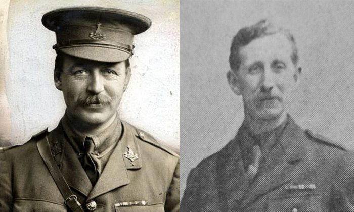 Sir Mark Sykes (L), 6th Baronet (1879-1919), and French diplomat François Georges-Picot (1870-1951). (Public Domain). (Public Domain)