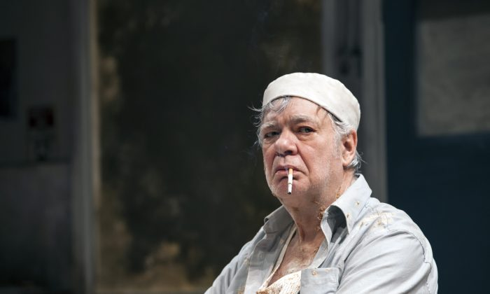 """Matthew Kelly stars as an aging baker in """"Toast."""" (Oliver King)"""