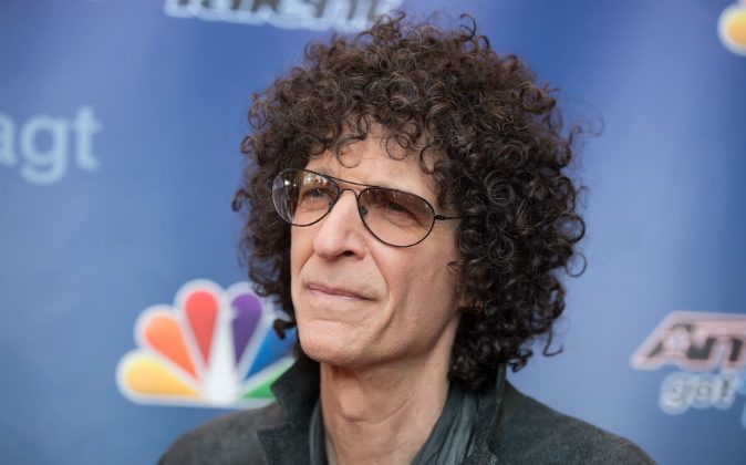 Howard Stern arrives at the 'America's Got Talent' Season 10 Red Carpet Event at New Jersey Performing Arts Center on March 2, 2015 in Newark, New Jersey. (Dave Kotinsky/Getty Images)