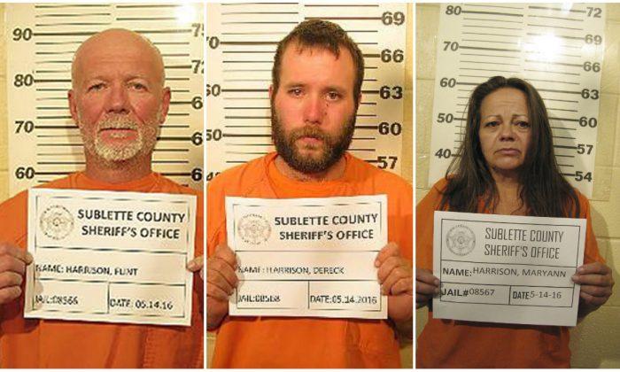 (Sublette County Sheriff's Office via AP)
