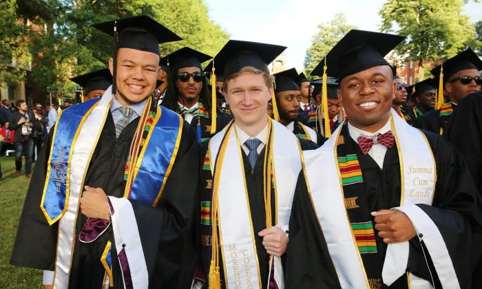 Liam, Ian and Willie (Morehouse College strategic of communications )