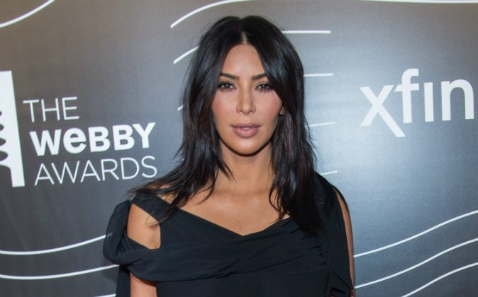 TV Personality Kim Kardashian West attends the 20th Annual Webby Awards at Cipriani Wall Street on May 16, 2016 in New York City. Kardashian filed a defamation lawsuit against gossip website MediaTakeOut on Oct. 10 (Mark Sagliocco/Getty Images)