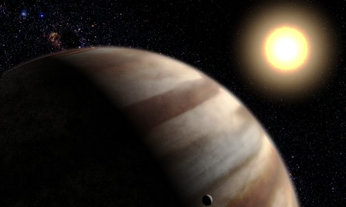 """""""When a star ages and brightens, the habitable zone moves outward and you're basically giving a second wind to a planetary system,"""" says Ramses M. Ramirez. (NASA)"""
