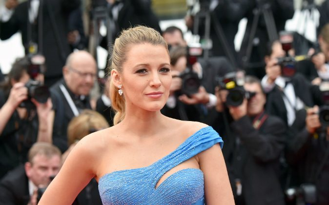 US actress Blake Lively arrives on May 14, 2016 for the screening of the film 'The BFG' at the 69th Cannes Film Festival in Cannes, southern France.(ALBERTO PIZZOLI/AFP/Getty Images)