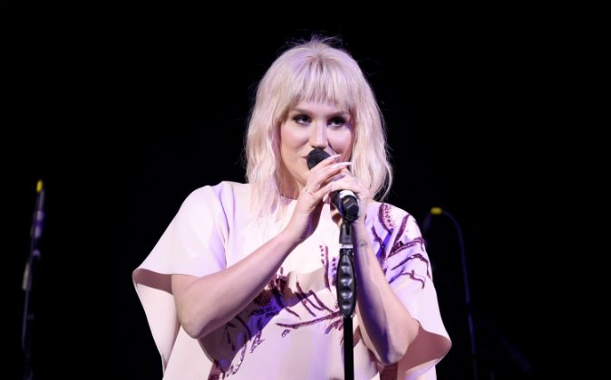 Singer Kesha performs onstage during The Humane Society of the United States' to the Rescue Gala at Paramount Studios on May 7, 2016 in Hollywood, California. (Angela Weiss/Getty Images for The Humane Society Of The United State )