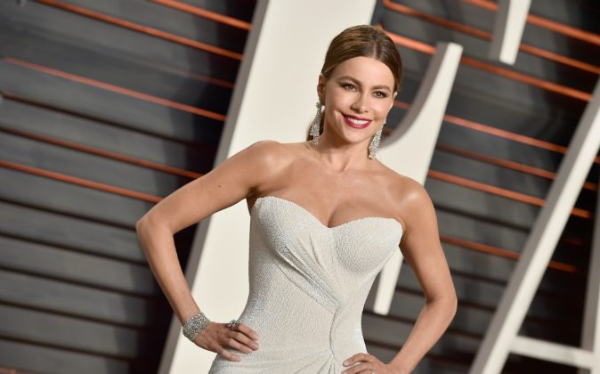Actress Sofía Vergara attends the 2016 Vanity Fair Oscar Party Hosted By Graydon Carter at the Wallis Annenberg Center for the Performing Arts on February 28, 2016 in Beverly Hills, California. (Pascal Le Segretain/Getty Images)