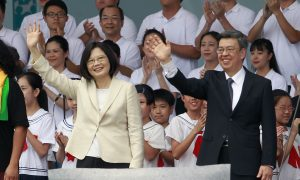 New Taiwan President Omits One-China Principle in Speech