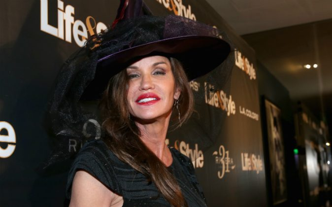Janice Dickinson attends Life & Style Weekly's 'Eye Candy' Halloween Bash hosted by LeAnn Rimes at Riviera 31 at Sofitel on October 29, 2015 in Los Angeles, California. (Jonathan Leibson/Getty Images for Life & Style Weekly)