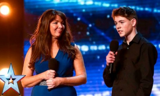 Mother and Son Perform Moving Duet of 'Say Something' on Britain's Got Talent