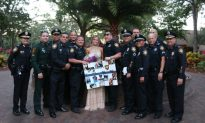Fallen Officer's Colleagues Escort His Daughter to Prom