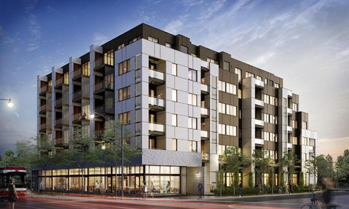Rendering of Graywood Developments latest condo project Scoop. (Courtesy of Graywood Developments)