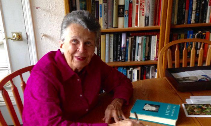 Betsy Hughes in her home in Oakwood, Ohio. (David Leach)