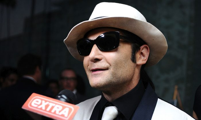 """Corey Feldman attends the Ovation TV premiere screening of """"Art Breakers"""" on October 1, 2015 in Los Angeles, California.  (Photo by Araya Diaz/Getty Images for Ovation)"""