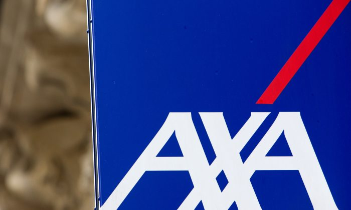 Insurance and bank group Axa. The AXA group has become the first global insurer to cut ties with the tobacco industry. (LOIC VENANCE/AFP/Getty Images)