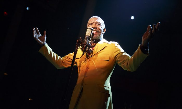 """Vondie Curtis Hall plays Papa Joe in """"The Total Bent,"""" running at The Public Theater. (Joan Marcus)"""