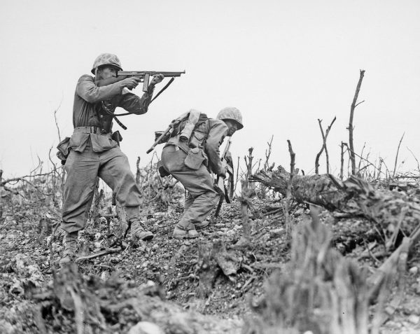 A file photo of American soldiers during WWII. (Public Domain)