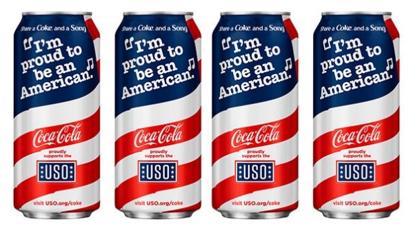 New Coca Cola can design launched on the Memorial Day weekend and available until June 4, 2016. (coca-colacompany.com)