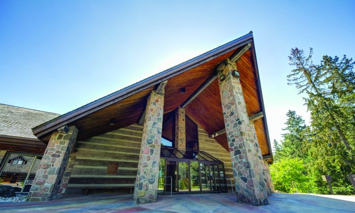 Front gallery of the McMichael Canadian Art Collection, one of 14 galleries.(Courtesy of McMichael Canadian Art Collection)