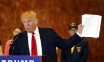 Trump Takes Reporters Head on in a Contentious News Conference About the $5.6 Million Dollars He Raised for Veterans