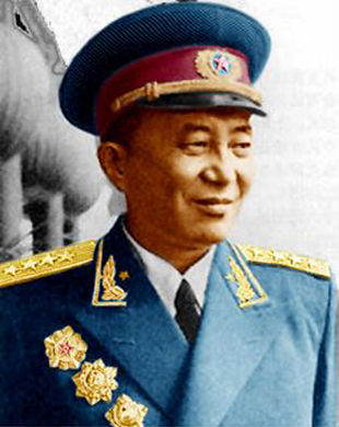 Luo Ruiqing in 1955. (PD-USGov)
