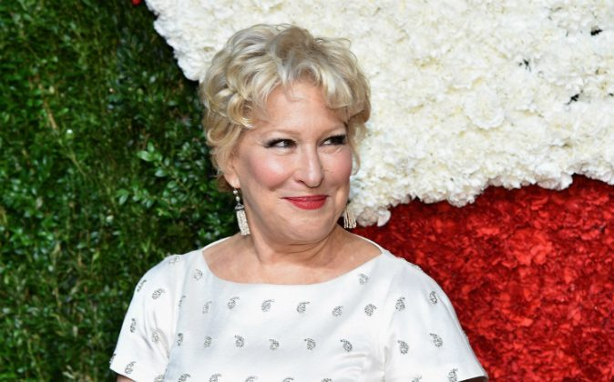 Singer Bette Midler attends God's Love We Deliver, Golden Heart Awards on October 16, 2014 in New York City. (Mike Coppola/Getty Images for Michael Kors)