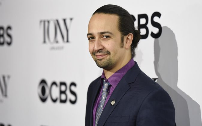 Lin-Manuel Miranda attends the 2016 Tony Awards Meet The Nominees Press Junket at Diamond Horseshoe at the Paramount Hotel on May 4, 2016 in New York City. (Matthew Eisman/Getty Images)