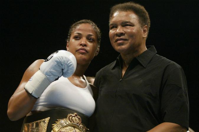Muhammad Alis daughter Rasheda Ali Walsh on her fathers