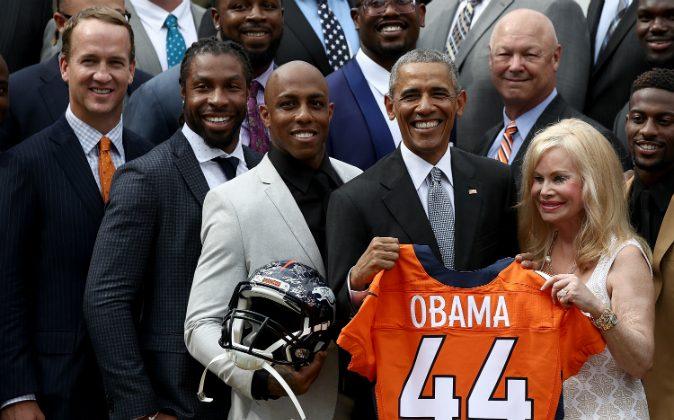 Demaryius Denver Thanks Wide Thomas For Pardon Receiver Obama President Broncos Mother's