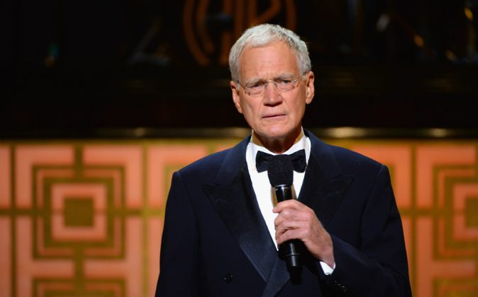 David Letterman speaks onstage at Spike TV's 'Don Rickles: One Night Only' on May 6, 2014 in New York City. (Theo Wargo/Getty Images for Spike TV)