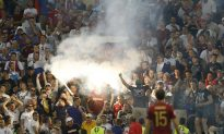 Violent Russia, England Soccer Fans Denounced on Twitter
