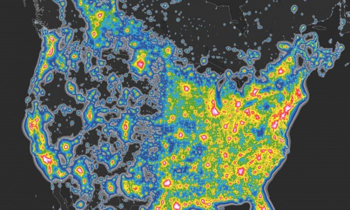 Light Pollution So Bad, 80 Percent of Americans Can\'t See Milky Way ...