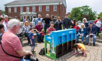 Five Pianos and a Dinosaur Star in Inaugural Sidewalk Festival