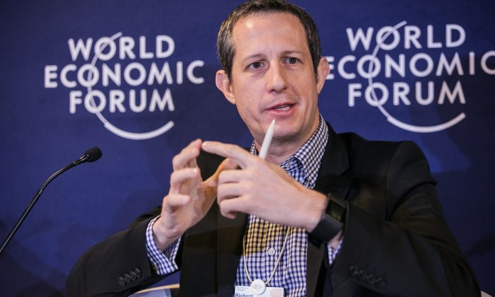 Richard Eldridge, CEO and co-founder of fintech company Lenddo at the World Economic Forum on Latin America in Medellin, Colombia on June 17, 2016. (WEF)