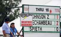 2016 U.S. Open: Mother Nature Rules in First Round