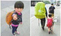 Instead of Kindergarten, Parents of 4-Year-Old Girl Send Her Backpacking Across China