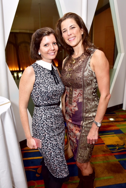 Sibylle Eschapasse and Dale Noelle at the Lifeline NY Annual Benefit Luncheon at Le Cirque in New York on Oct. 5, 2016. (Sean Zanny/Patrick McMullan)