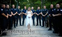 Police Honor a Fallen Officer: Amazing Maternity Photo Shoot With Widow