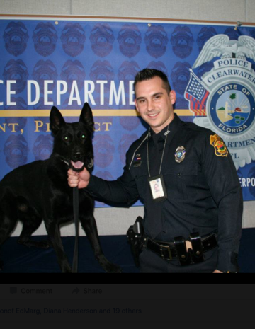 Police Officer Writes Touching Letter to His K-9 He Just Put Down