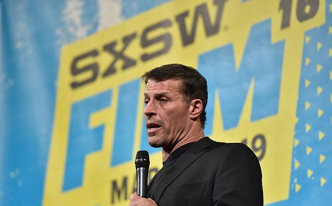 Tony Robbins attends the screening of 'Tony Robbins: I Am Not Your Guru' during the Music, Film + Interactive Festival on in Austin, Texas. (Mike Windle/Getty Images)