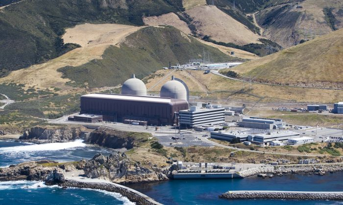 The Diablo Canyon Nuclear Power Plant, in Avila Beach, Calif., on June 20, 2010. (Joe Johnston/The Tribune (of San Luis Obispo) via AP)