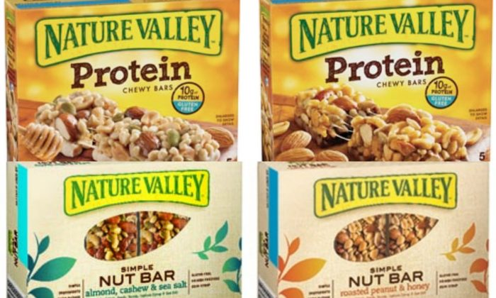 Nature Valley Recalled Items (General Mills)