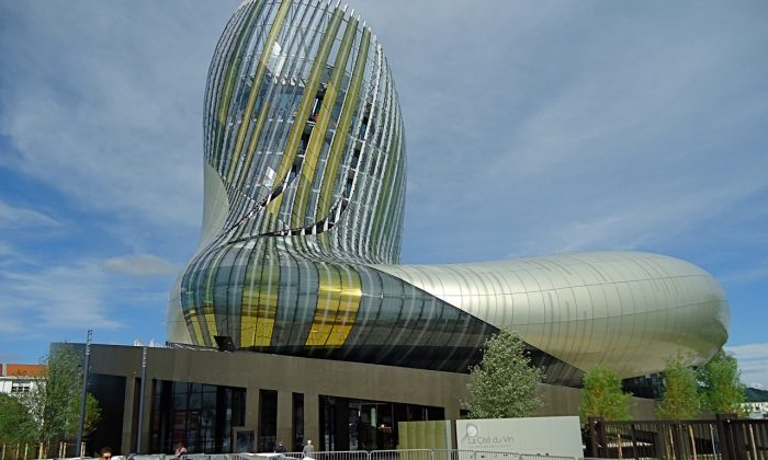 The Cité du Vin, located in the heart of the Bordeaux wine region, is a celebration of wine culture and history. (Susan James)