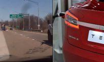 Tesla Crash Driver Was Watching 'Harry Potter,' Says Witness