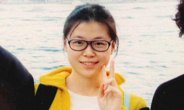 The millennial political prisoner, lawyer assistant Zhao Wei. (photo courtesy of HRCChina.org)