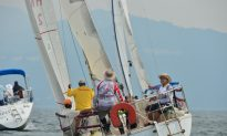 Patchy Winds for Summer Saturday Racing