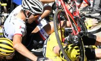 Climbing Catastrophe: Chris Froome Brought Down by Motorcycle Collision in Tour de France Stage 12