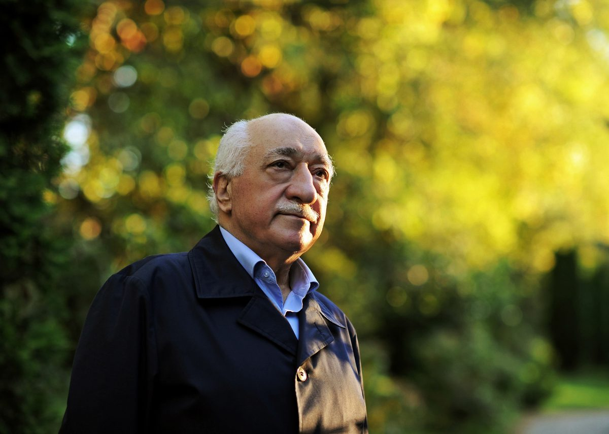 "Turkish Islamic preacher Fethullah Gulen is pictured at his residence in Saylorsburg, Pa., on Sept. 24, 2013. A lawyer for the Turkish government, Robert Amsterdam, said that ""there are indications of direct involvement"" in the Friday, July 15, 2016, coup attempt of Fethullah Gulen, a Muslim cleric who is living in exile in Pennsylvania. He said he and his firm ""have attempted repeatedly to warn the U.S. government of the threat posed"" by Gulen and his movement. (AP Photo/Selahattin Sevi)"