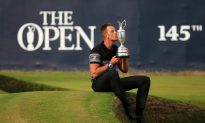 Stenson Wins First Major at Royal Troon